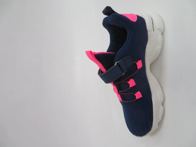 Buty Sportowe Dziecięce F776, Navy Pink, 32-37 2