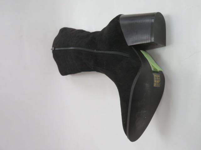 Botki Damskie RQ256, Black, 36-41 3