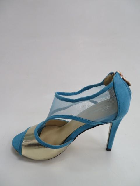 Szpilki Damskie H176, Blue, 36-41
