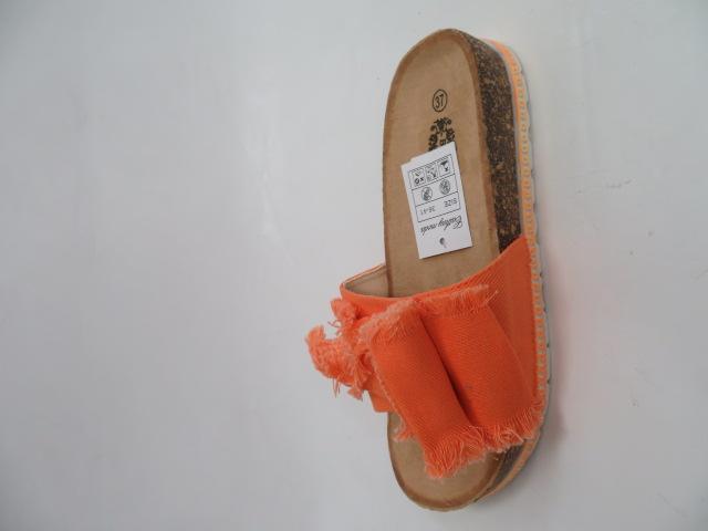 Klapki Damskie 1912-5, Orange, 36-41