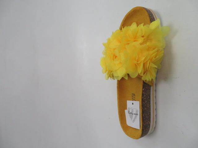Klapki Damskie 5072, Yellow , 36-41
