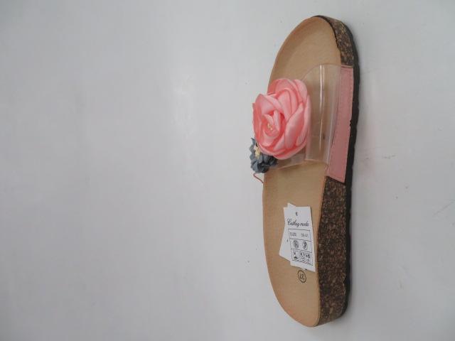 Klapki Damskie LS-33, Pink, 36-41