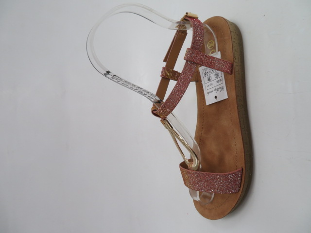 Sandały Damskie L-484, Gold, 36-41