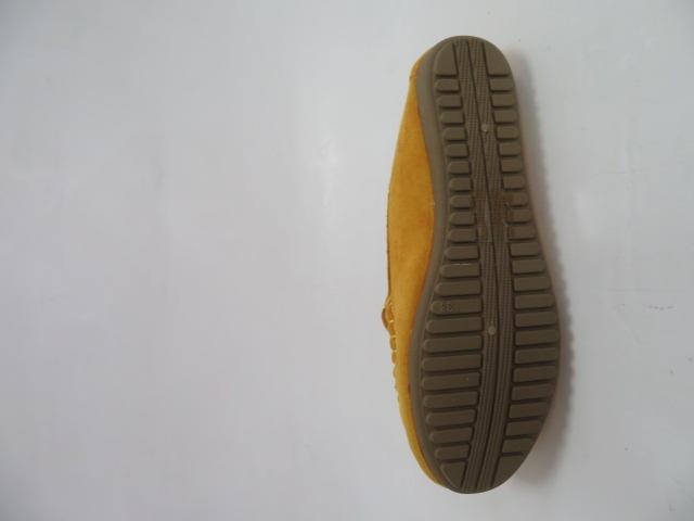 Półbuty Damskie N19-363, Yellow, 36-41