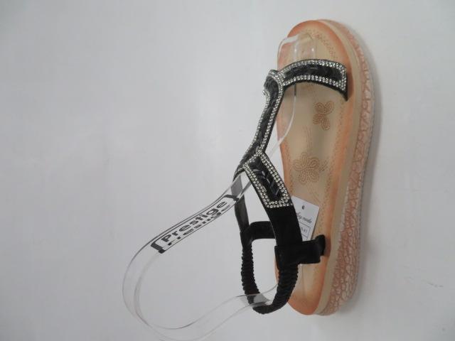 Sandały Damskie WS9017, Black, 36-41