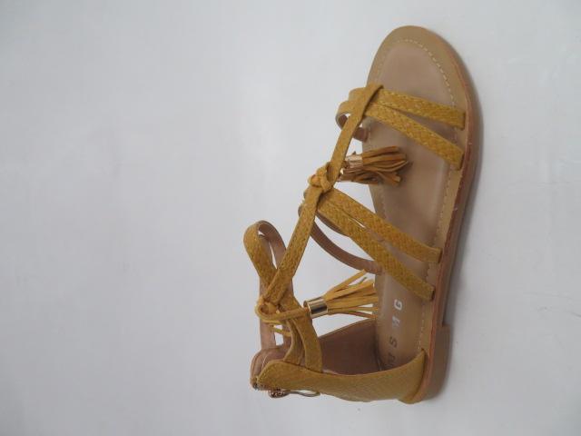 Sandały Damskie JN806, Yellow, 36-41