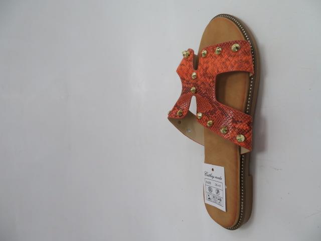 Klapki Damskie 8230, Orange, 36-41