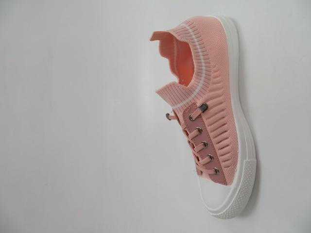 Trampki Damskie 1013-27, Pink , 36-41 2