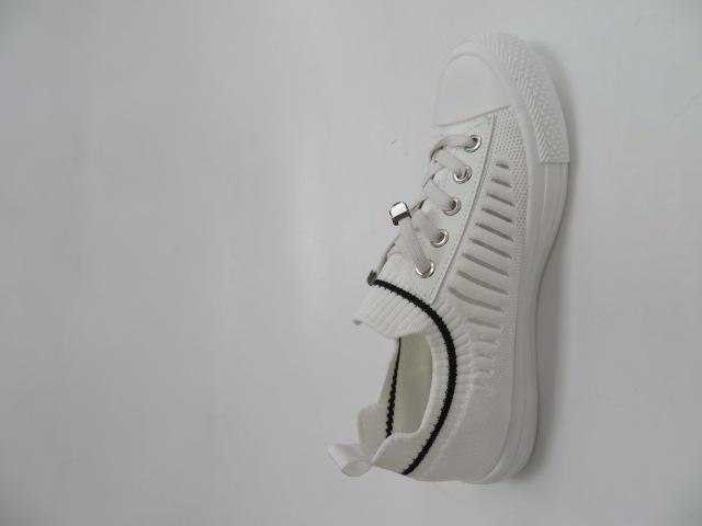 Trampki Damskie 1013-8, White , 36-41 2