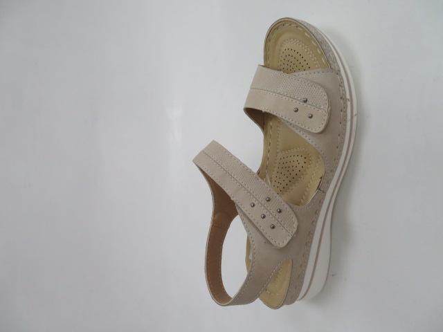 Sandały Damskie 6778-5, Beige, 36-41 1