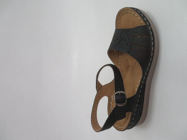 Sandały Damskie 0676-1, Black, 36-41 1