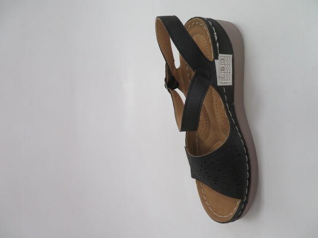 Sandały Damskie 0676-1, Black, 36-41 2