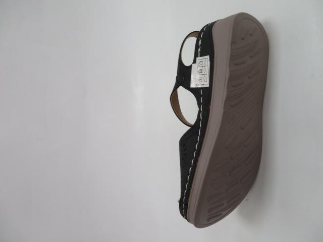 Sandały Damskie 0676-1, Black, 36-41 3