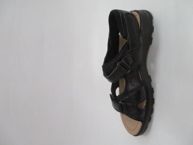 Sandały Męskie 2032-1, Black, 40-46