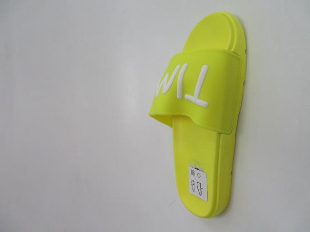 Klapki Damskie CK125, Yellow, 36-41 2