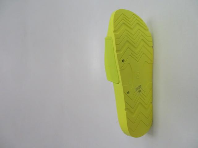 Klapki Damskie CK125, Yellow, 36-41 3