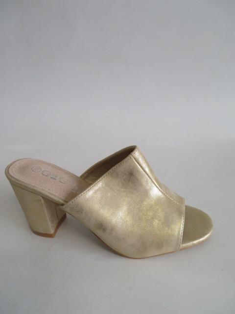 Czółenka Damskie LE-350, Gold , 36-41