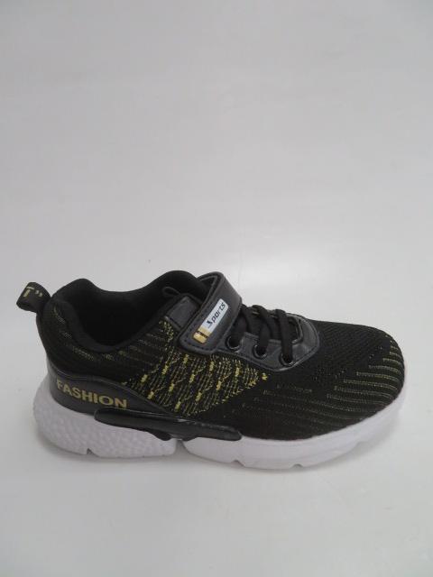 Buty Sportowe Dziecięce 7907-1, Black , 31-36