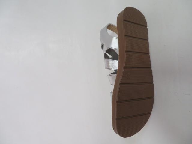 Sandały Damskie 9225, Silver, 36-41