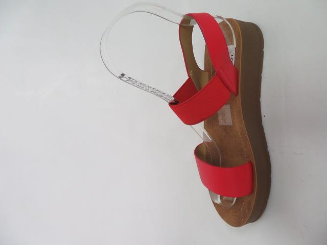 Sandały Damskie 5106, Red, 36-41
