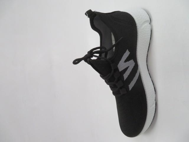Buty Sportowe Męskie 0576, Black/White, 41-46