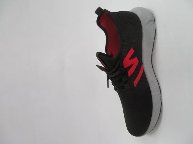 Buty Sportowe Męskie 0576, Black/Red, 41-46