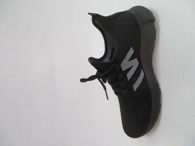 Buty Sportowe Męskie 0576, Black/Black, 41-46