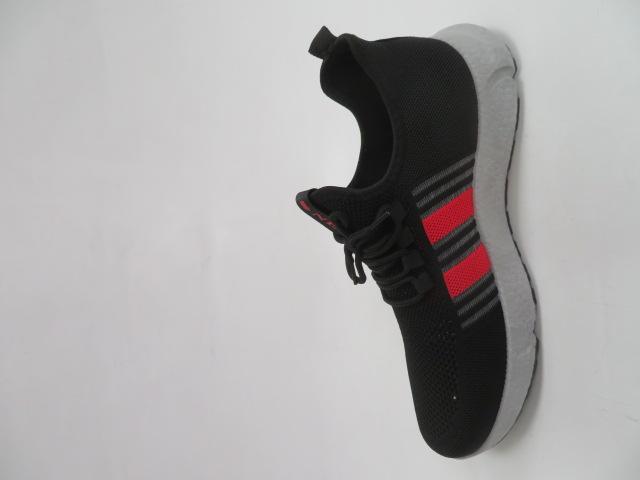 Buty Sportowe Męskie 0577, Black/Red, 41-46