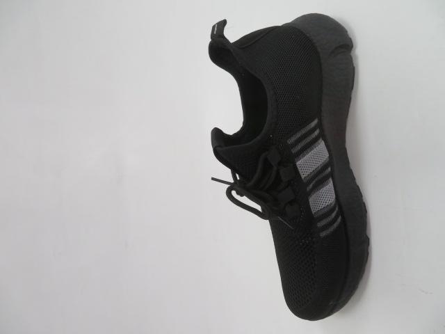 Buty Sportowe Męskie 0577, Black/Black, 41-46
