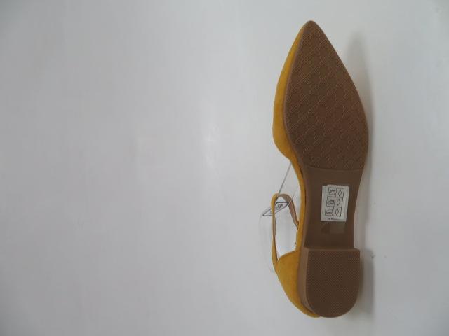Baleriny Damskie CL74, Yellow, 36-41 3