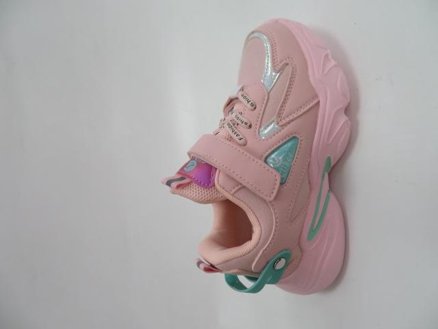 Buty Sportowe Dziecięce L312, Pink, 27-31