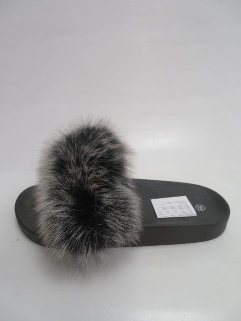 Klapki Damskie 3116, Black/Grey, 36-41