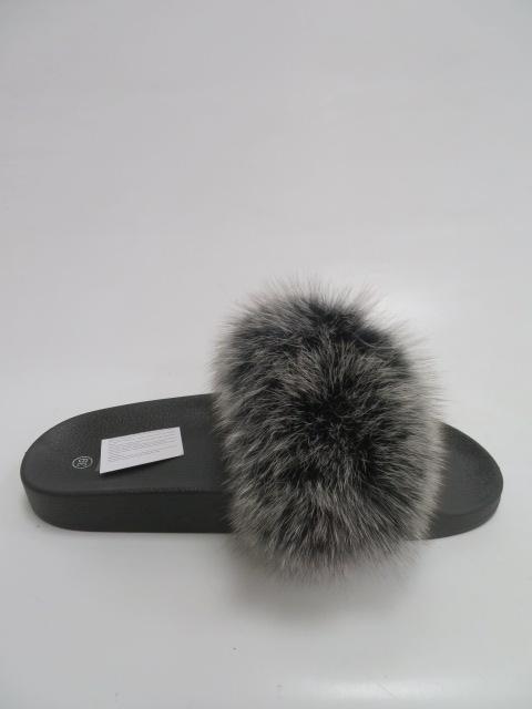 Klapki Damskie 3116, Black/Grey, 36-41 2