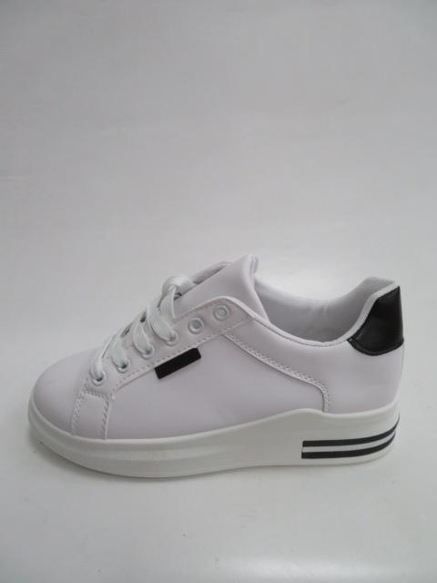 Trampki Damskie 81102, White/Black , 36-41