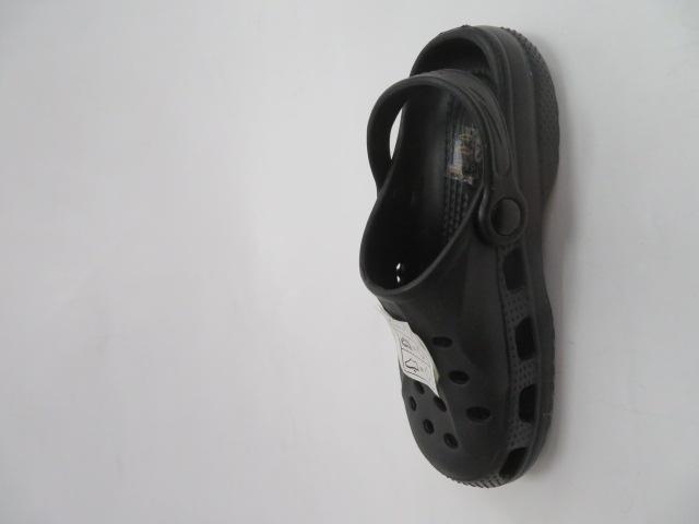 Klapki Dziecięce XZ-5001 , Black, 26-31