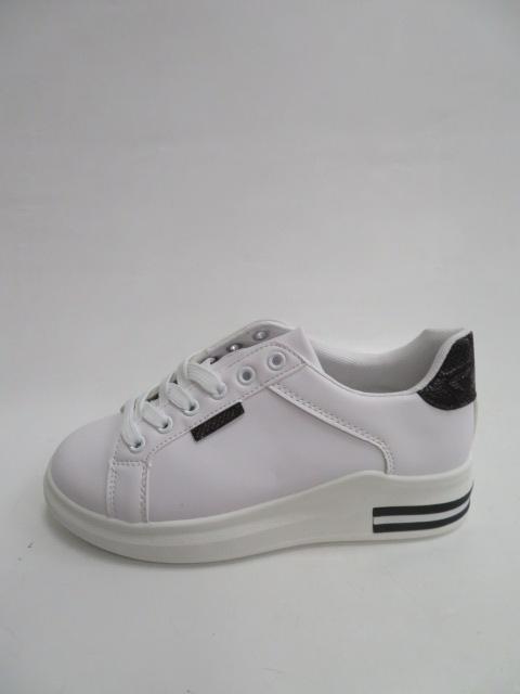 Trampki Damskie 81101, White/Black , 36-41