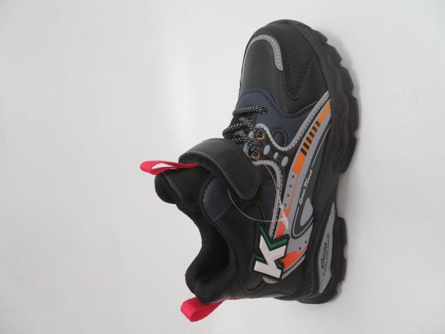 Buty Sportowe Dziecięce L251, Black/Red, 26-31