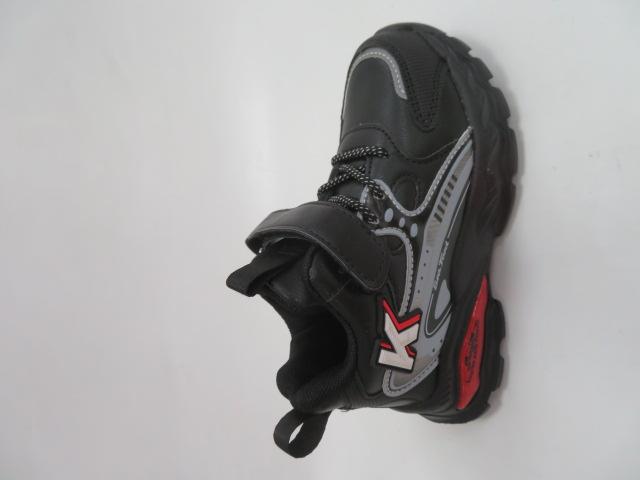 Buty Sportowe Dziecięce L251, Black/Royal, 26-31