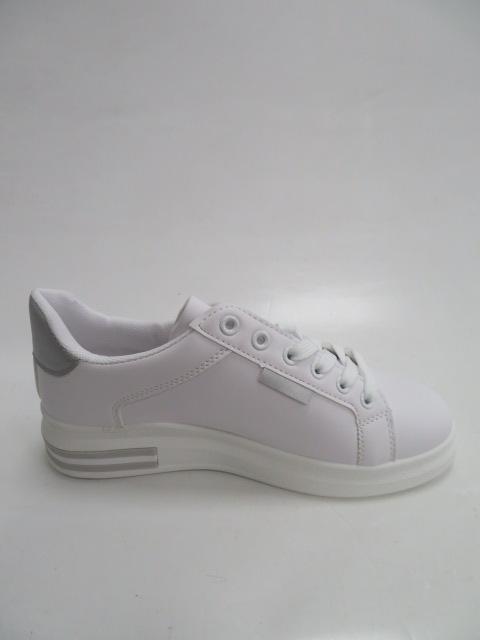 Trampki Damskie 81102, White/Silver, 36-41 2