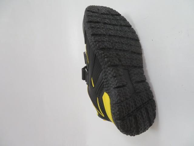 Buty Sportowe Dziecięce E60, Black/Yellow, 26-31 3