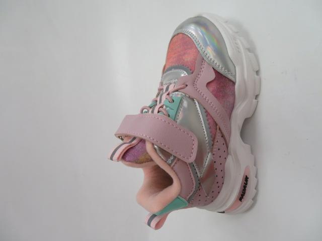 Buty Sportowe Dziecięce E52, Pink/Green, 26-31