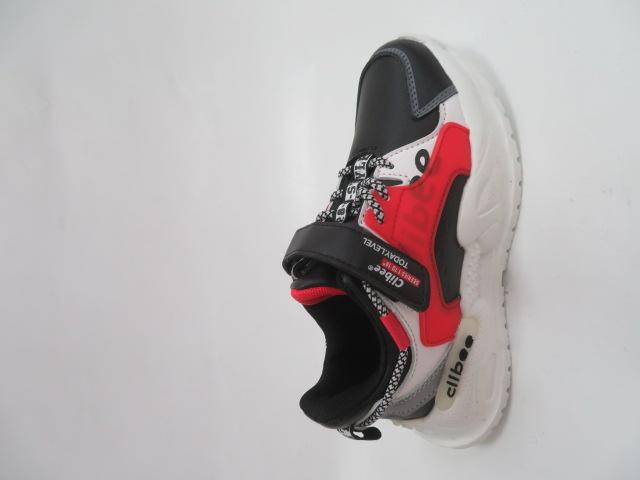 Buty Sportowe Dziecięce L300, Black/Red, 32-37