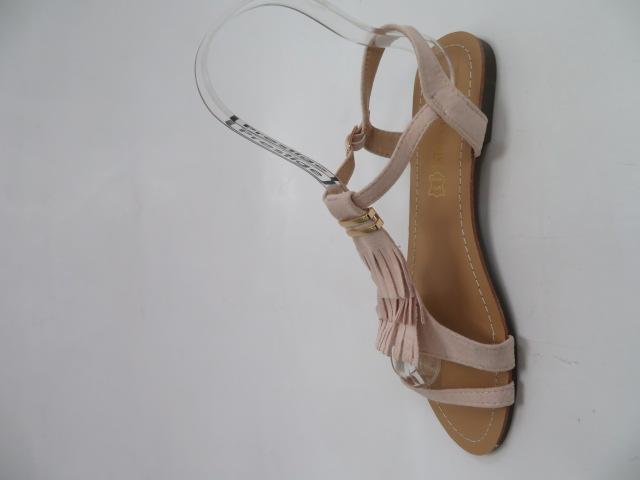 Sandały Damskie 1-51, Beige, 36-41