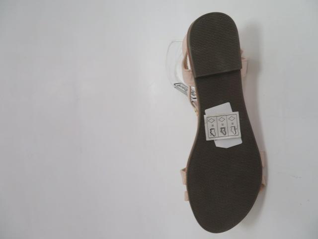 Sandały Damskie 1-51, Beige, 36-41 3