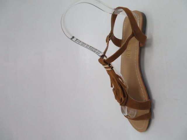 Sandały Damskie 1-51, Camel, 36-41