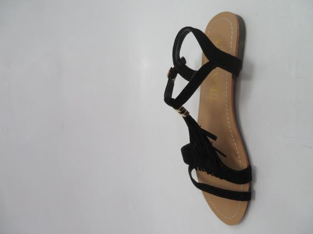 Sandały Damskie 1-51, Black, 36-41