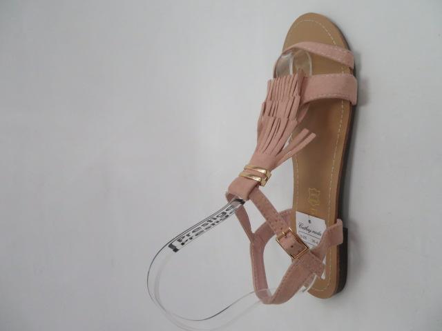 Sandały Damskie 1-51, Pink, 36-41