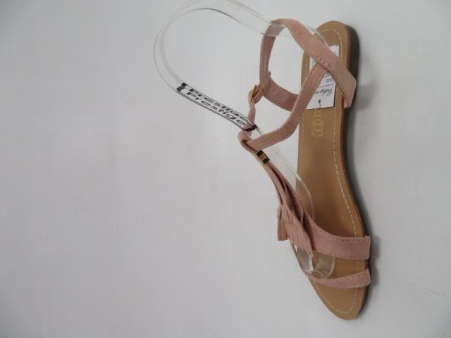 Sandały Damskie 1-51, Pink, 36-41 3