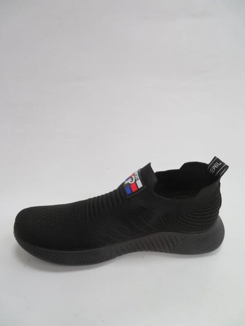 Buty Sportowe Męskie 3002-1, Black , 41-46