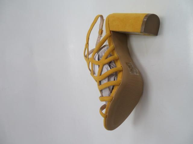 Sandały Damskie L11-153, Yellow, 36-40